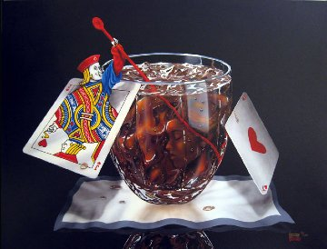 Black Jack And Coke 2002 Limited Edition Print - Michael Godard