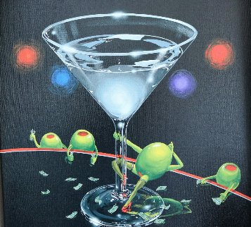 Dirty Martini 2002 Limited Edition Print by Michael Godard