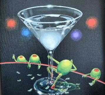 Dirty Martini 2002 Limited Edition Print by Michael Godard
