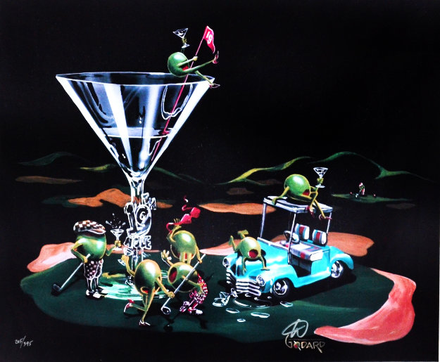 19th Hole 2006 Limited Edition Print by Michael Godard