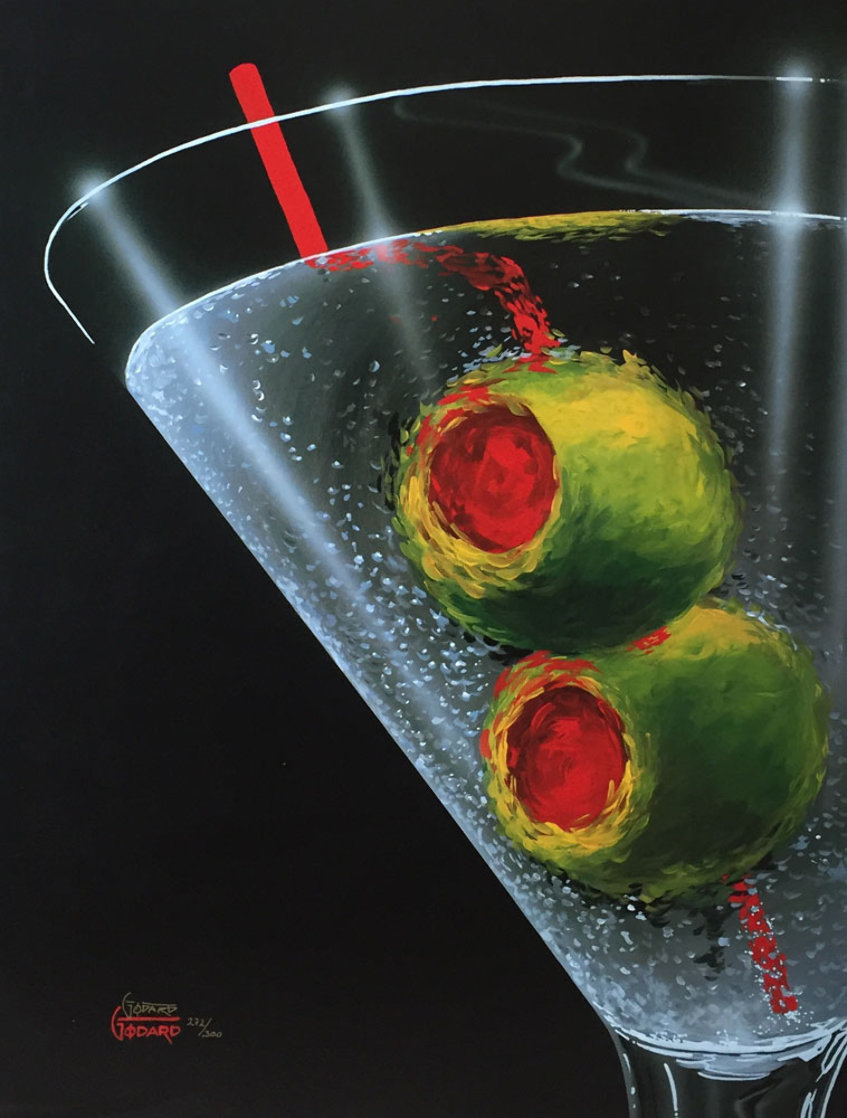 Classic Martini 2003 Limited Edition Print by Michael Godard