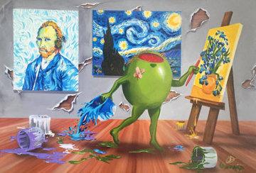Van Gogh Dark 2015 Limited Edition Print - Michael Godard