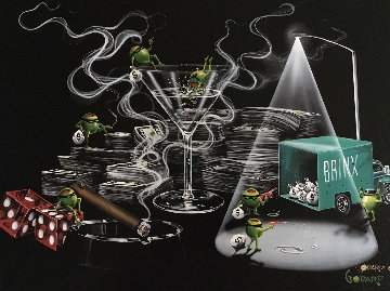Heist 2006 Limited Edition Print - Michael Godard