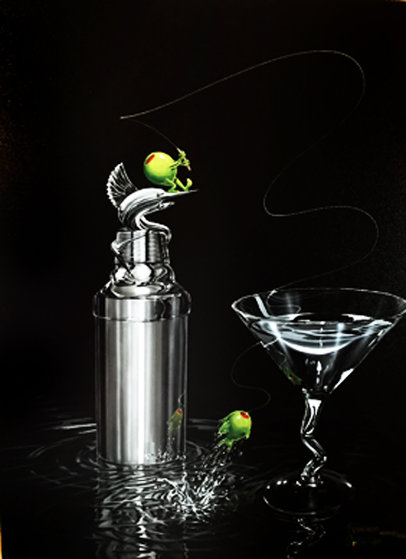 Marlin Martini 2004 Limited Edition Print by Michael Godard