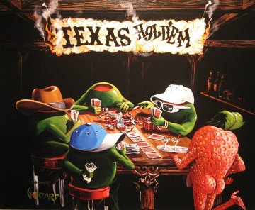 Poker Pimps 2009 Limited Edition Print - Michael Godard