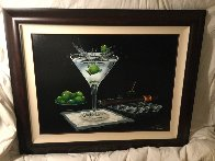 Olive Party 2000 Limited Edition Print by Michael Godard - 1