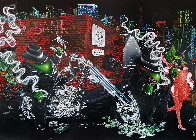Gangster Chopper Master Highlight 2007 Embellished Limited Edition Print by Michael Godard - 0