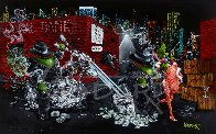 Gangster Chopper Master Highlight 2007 Embellished Limited Edition Print by Michael Godard - 7