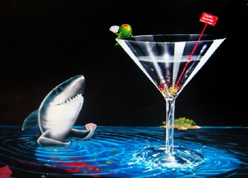 Card Shark AP 2007 Limited Edition Print - Michael Godard