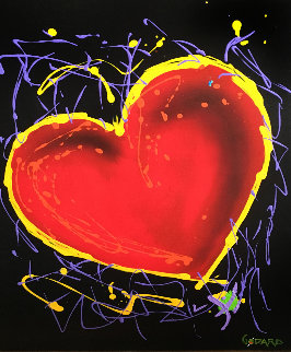 Hearts of Hope 36x24 Original Painting - Michael Godard