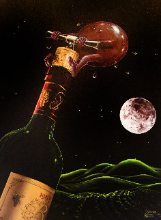 Something to Wine About 2003 Limited Edition Print - Michael Godard