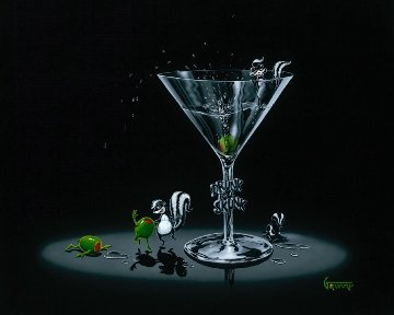 Drunk As a Skunk 2006 Limited Edition Print by Michael Godard