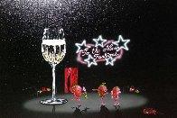 Champagne Shopper 2004 Limited Edition Print by Michael Godard - 2