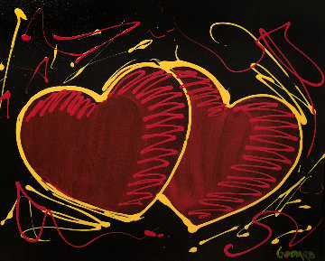 Hearts of Hope 2017 24x30 Original Painting by Michael Godard