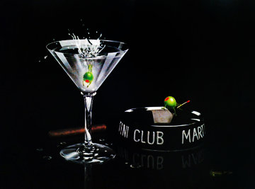 Martini Club 2004 Limited Edition Print - Michael Godard