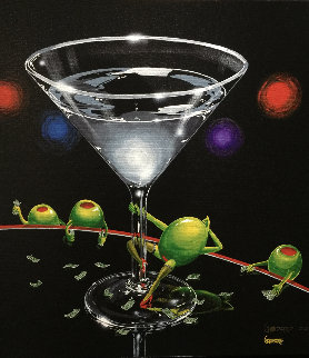 Dirty Martini 1 2002 W Remarque Limited Edition Print - Michael Godard