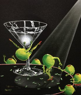 Dirty Martini 2 2003 Limited Edition Print by Michael Godard