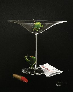 Mystery Martini  2002 Limited Edition Print - Michael Godard
