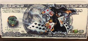$100 Bill Full House 2006 Huge Limited Edition Print - Michael Godard