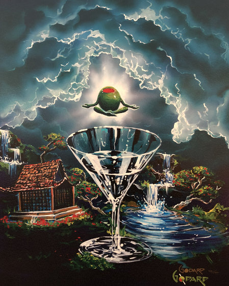 Zen Martini 2,  Tranquility Found 2007 Limited Edition Print by Michael Godard