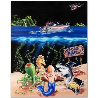 Sand Bar 1 Limited Edition Print - Michael Godard