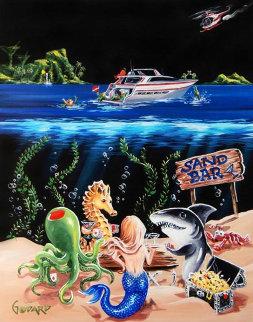 Sand Bar I 2008 Limited Edition Print by Michael Godard