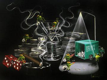 Heist 2004 Limited Edition Print by Michael Godard