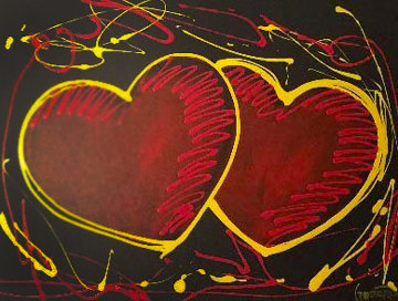 Hearts of Hope 2018  41x33 Original Painting by Michael Godard