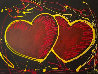 Hearts of Hope 2018  41x33 Original Painting by Michael Godard - 0