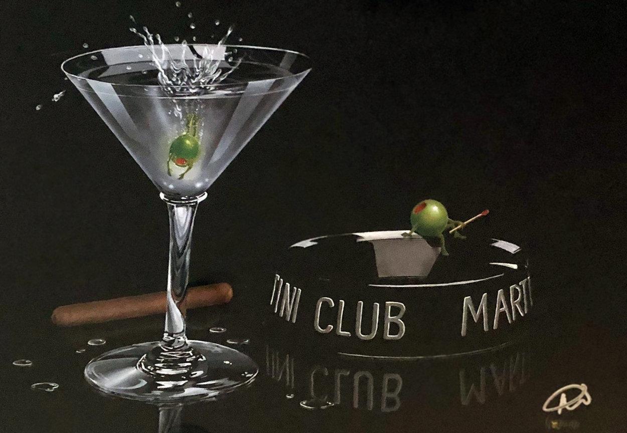 Martini Club 2009 Limited Edition Print by Michael Godard