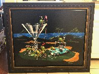 19th Hole Water Bound 2015 Embellished Limited Edition Print by Michael Godard - 1