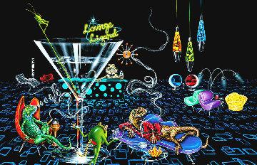 Lounge Lizard 2005 Limited Edition Print by Michael Godard