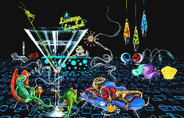 Lounge Lizard 2005 Limited Edition Print by Michael Godard