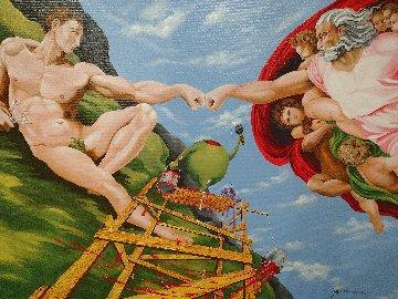 Knuckles - Michelangelo Embellished Limited Edition Print - Michael Godard