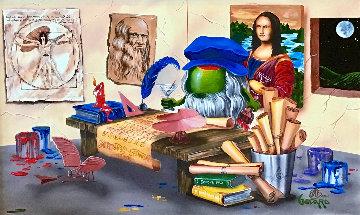 Da Vinci's Window 2015 Limited Edition Print by Michael Godard