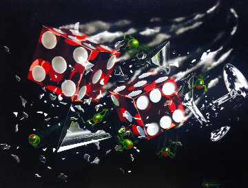 Shattered Roll AP 2002 Limited Edition Print by Michael Godard
