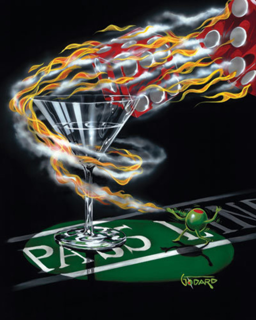 Burning It Up 2002 Limited Edition Print by Michael Godard