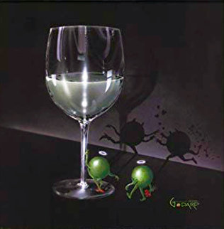 He Devil, She Devil White Wine 2004 Limited Edition Print - Michael Godard