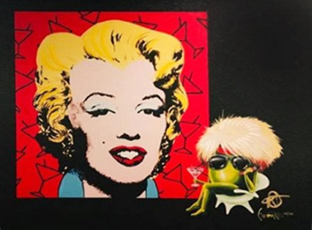 Marilyn 2018   Embellished Limited Edition Print by Michael Godard