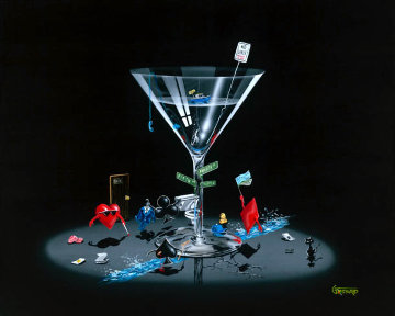 Texas Hold'em 2005 Limited Edition Print by Michael Godard