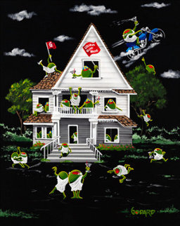 Olive House 2010 Limited Edition Print - Michael Godard