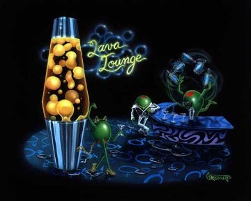 Lava Lounge 2005 Limited Edition Print by Michael Godard