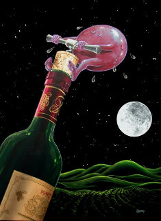 Something to Wine About  2003 Limited Edition Print by Michael Godard