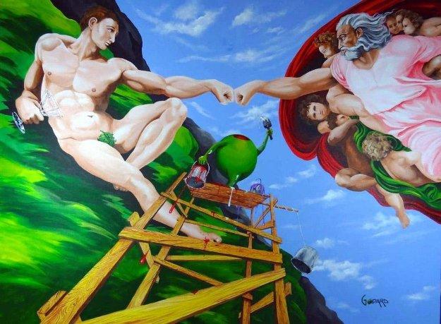 Michelangelo Limited Edition Print by Michael Godard