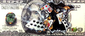 $100 Bill Full House AP Super Huge Limited Edition Print - Michael Godard
