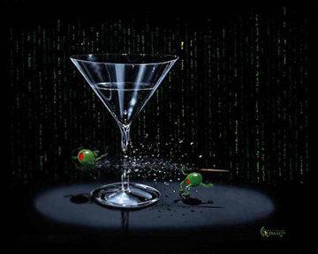 Matrix Martini   2004 Limited Edition Print by Michael Godard