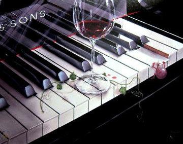 Key to Wine 2000 Limited Edition Print by Michael Godard