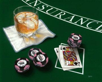 Scotch And Black Jack Limited Edition Print by Michael Godard