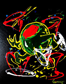 Dancing Olive 2007 30x24 Original Painting by Michael Godard