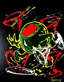Dancing Olive 2007 30x24 Original Painting by Michael Godard